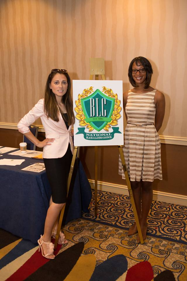 june 13th-karlyn and patty with nblc sign NICE